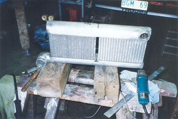Escorts intercooler